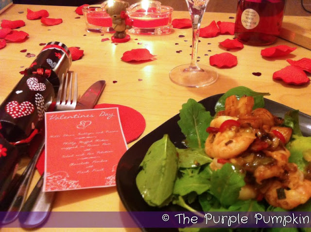 Valentine's Day Dinner | The Purple Pumpkin Blog