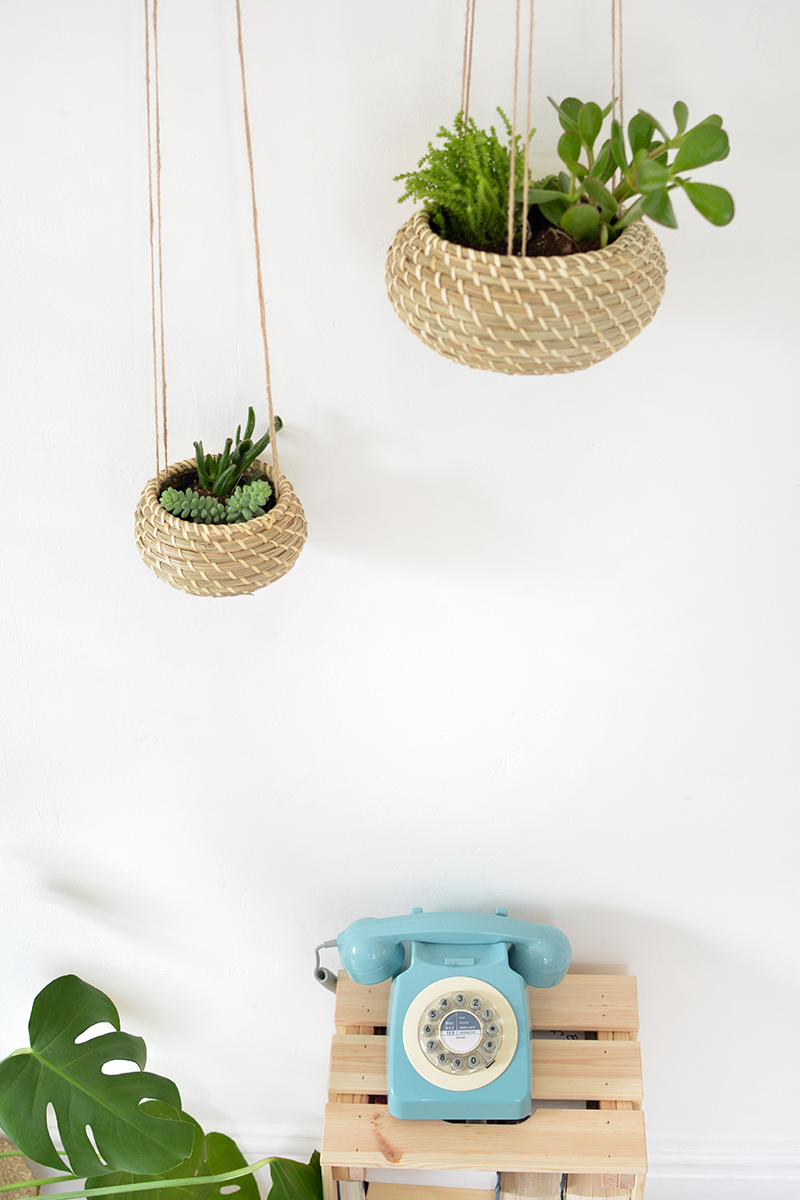 how to ikea hack hanging planters