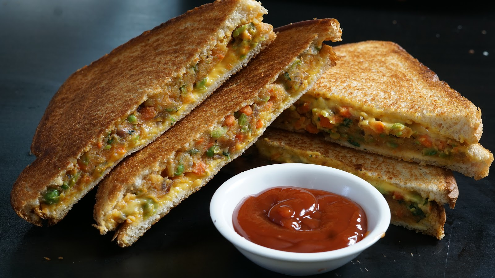 Cake Recipes In Madras Samayal: Vegetable Sandwich Recipe