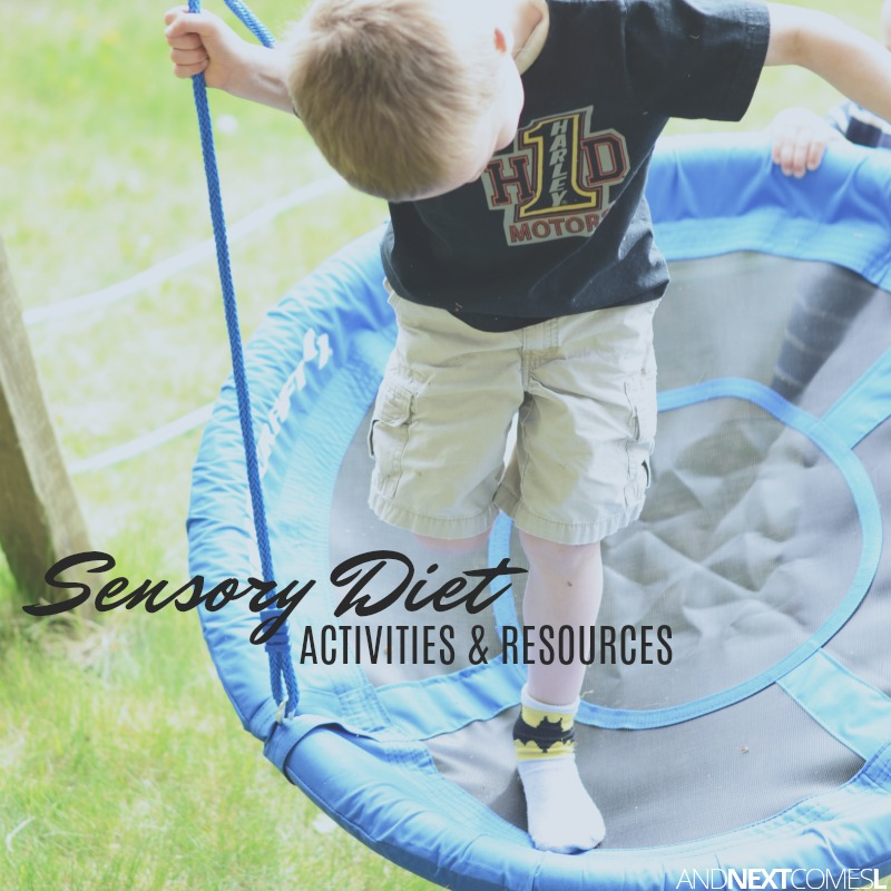 50 Sensory Diet Activities: What A Sensory Diet Can Do for Your Child with Autism
