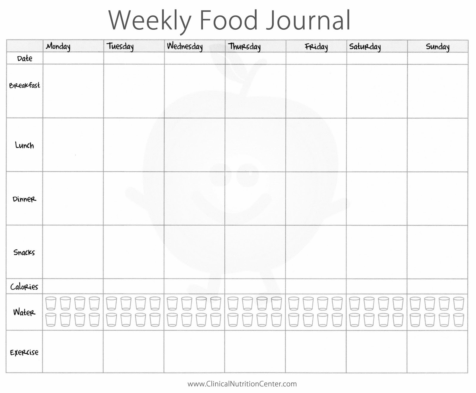 Low Carb Food Journal
