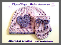 crochet patterns, how to crochet, hat, mittens, baby, newborn,