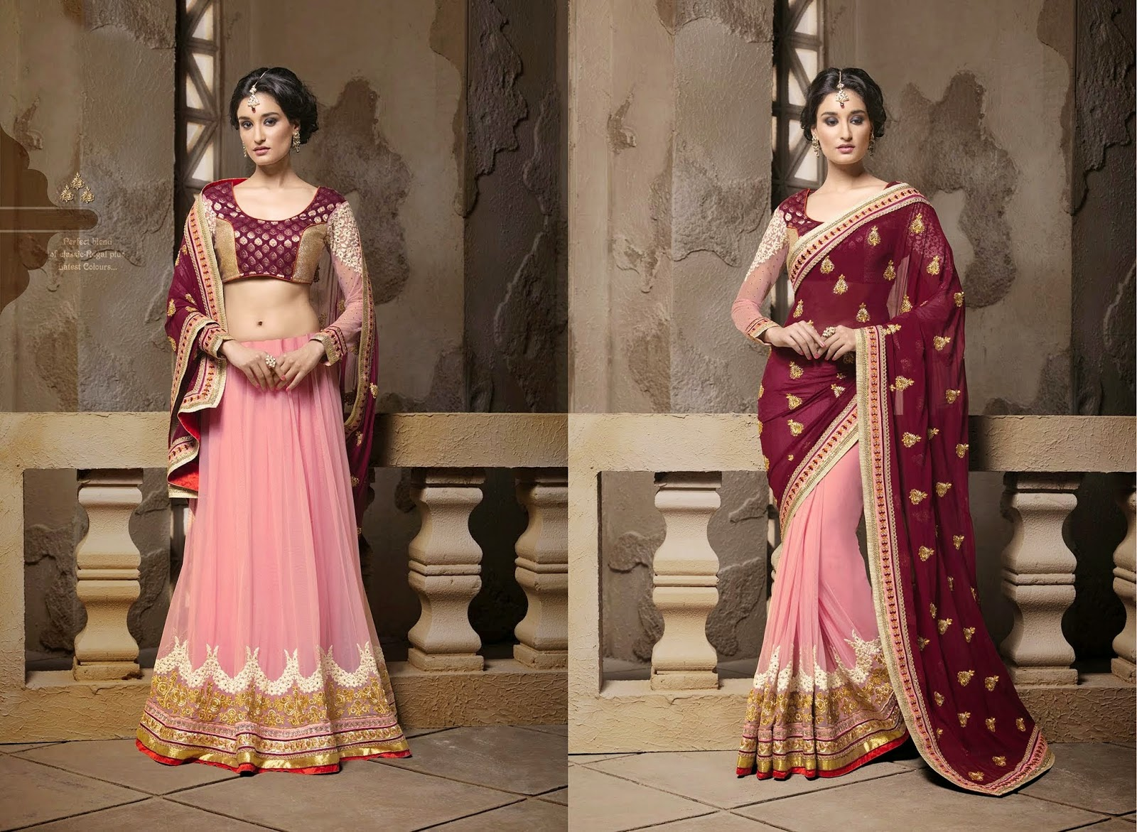 Traditional Indian Designer Wedding Sarees