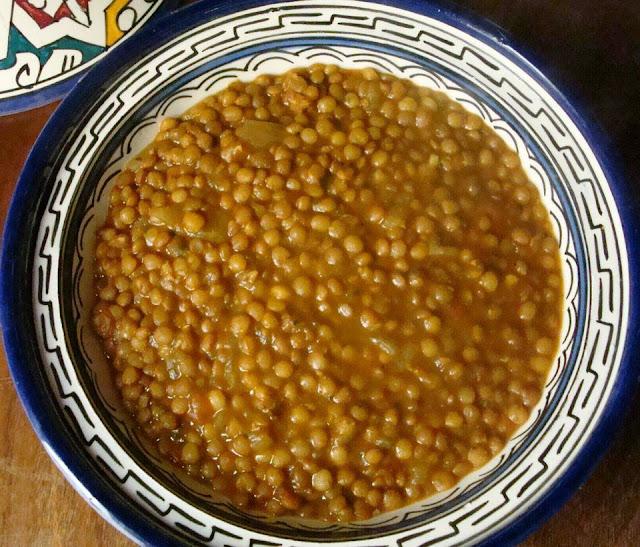 recette de lentilles marocaines