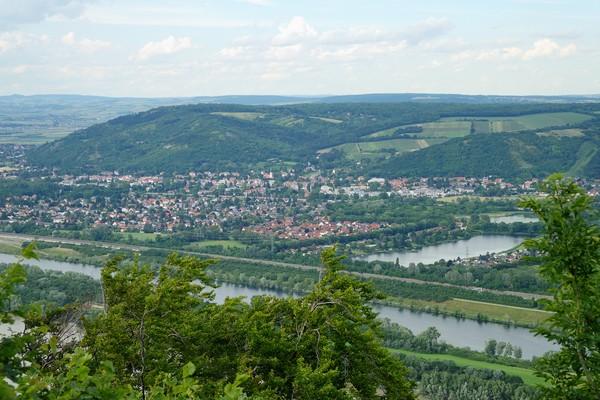 vienne döbling stadtwanderweg 1 kahlenberg nussdorf randonnée panorama danube