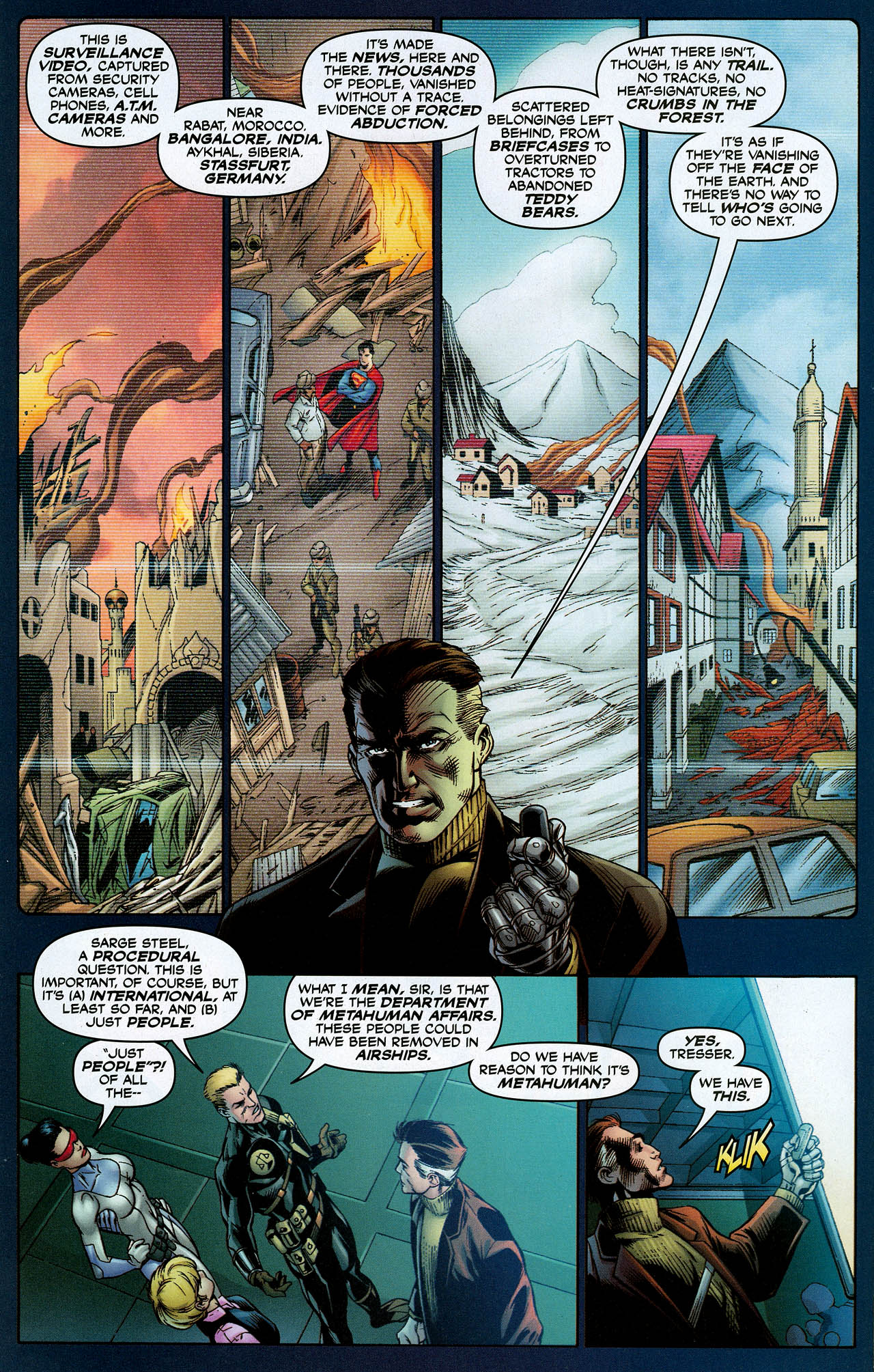 Read online Trinity (2008) comic -  Issue #9 - 10