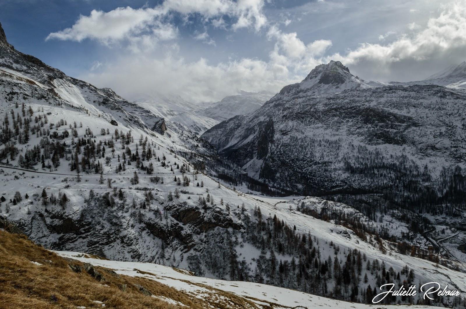 Rocher de Bellevarde, Val d'Isère
