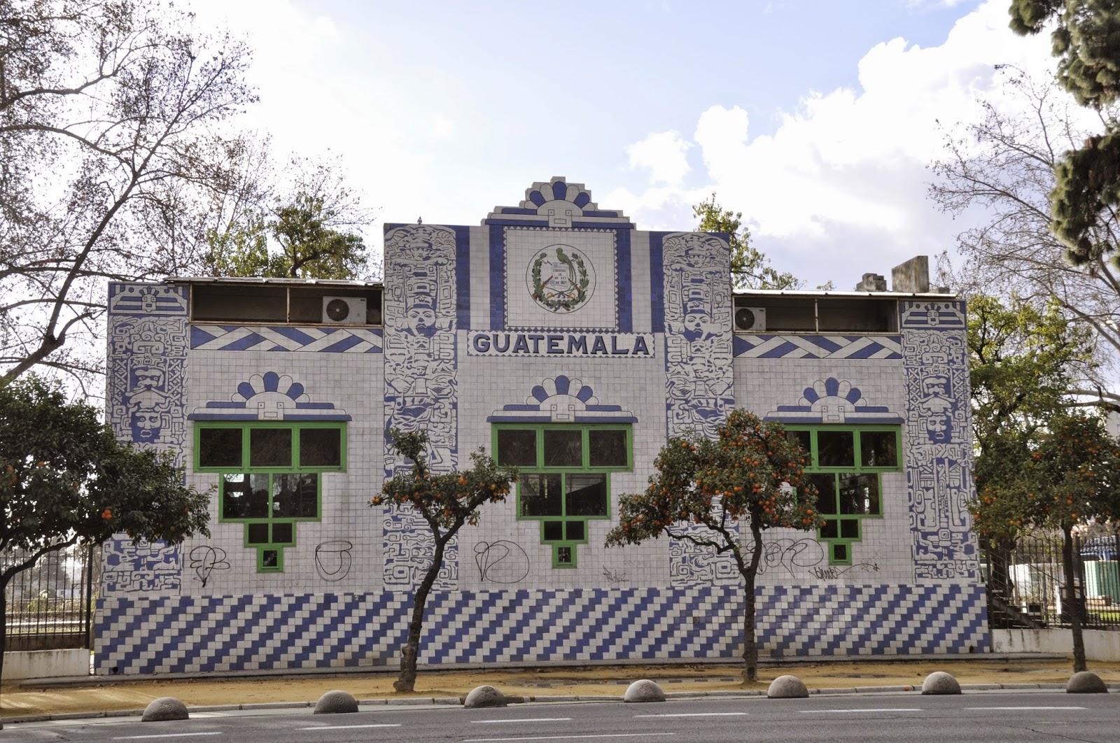 Pabellón de Guatemala Sevilla