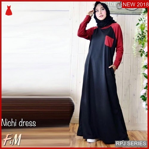 RPJ165D159 Model Dress Nichi Cantik Dress Wanita