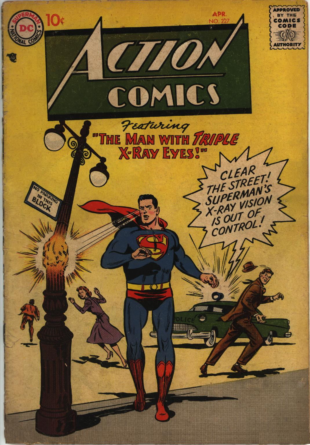 Read online Action Comics (1938) comic -  Issue #227 - 1