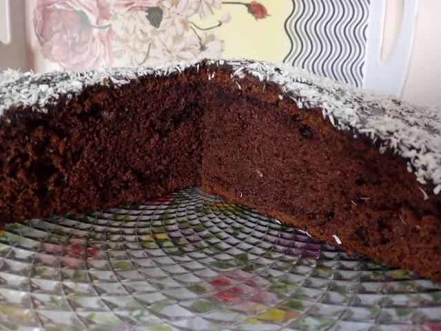 ciasto czekoladowe wilgotne ciasto czekoladowe murzynek szybkie ciasto czekoladowe z polewa murzynek z dzemem ciasto z powidlami