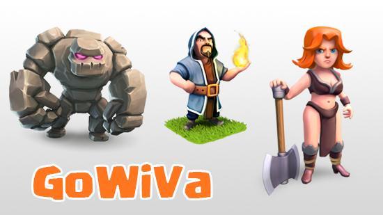 GoWiVa (Golem + Wizard + Valkrie)