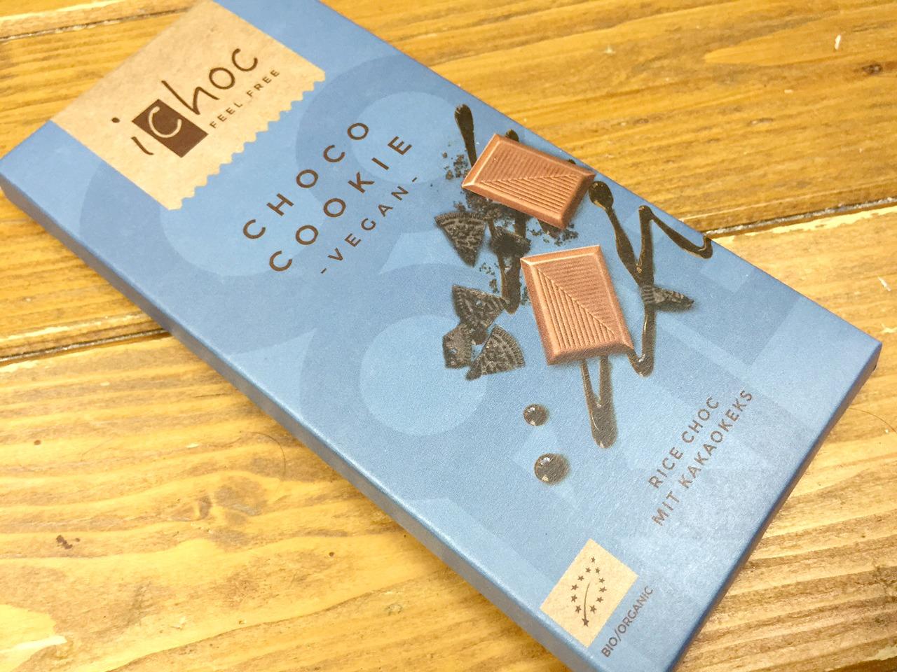 iChoc Choco Cookie Vegan Chocolate