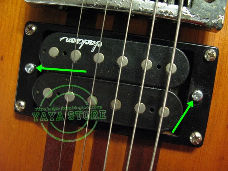 yaya store guitar pickup height adjusting screw. Black Bedroom Furniture Sets. Home Design Ideas