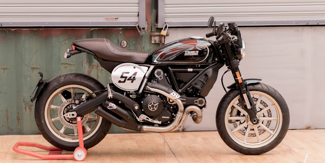 Ducati Scrambler Độ Cafe Racer