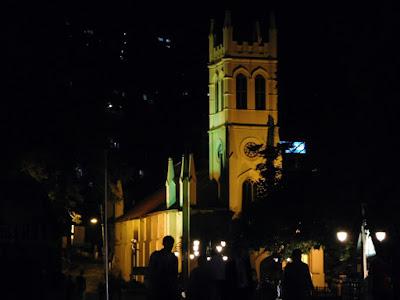 Historical Church at Shimla MallRoad