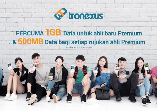 Tronexus - Guna Simcard Tronexus, Boleh Menang Cabutan Bertuah !