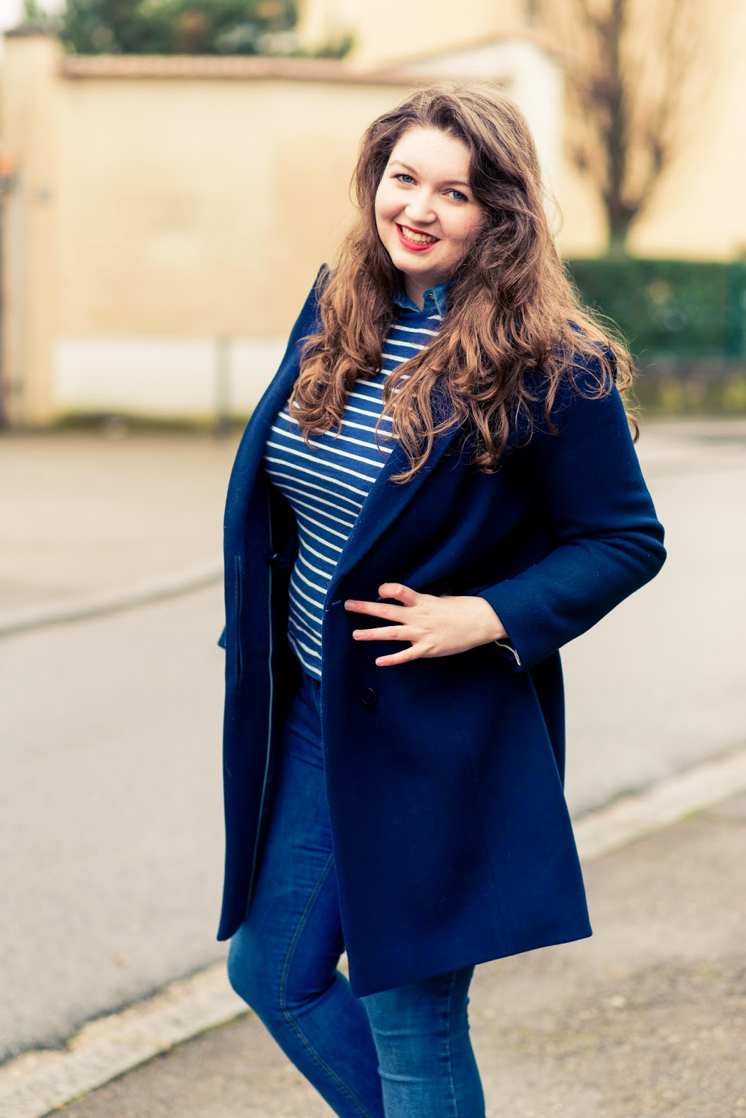 french lookbook blue look blog fashion blogger liquidgrain liquid grain