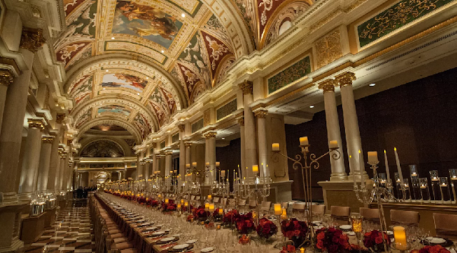 Grand Colonnade no Venetian em Las Vegas
