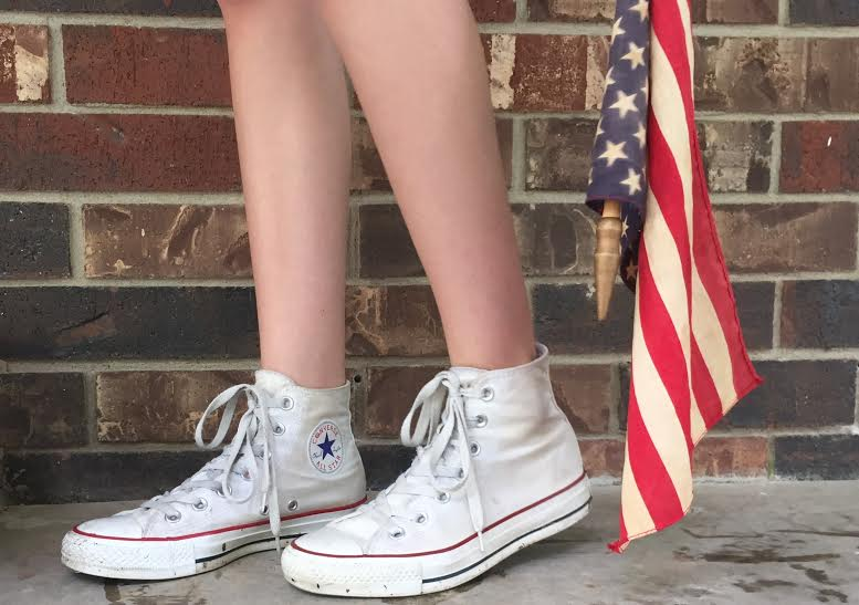 4th of July Outfit Shoes from Eloise Edition