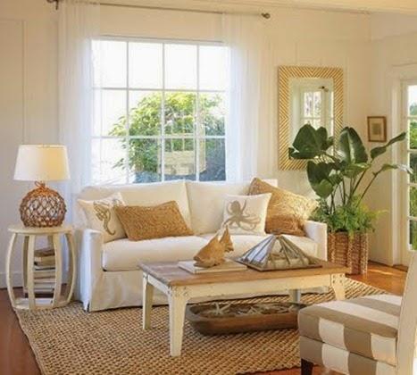 Pintar el salón con colores claros para que parezca más amplio