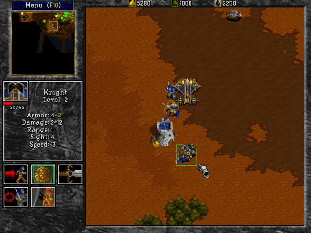 Warcraft 2 Knight Screenshot