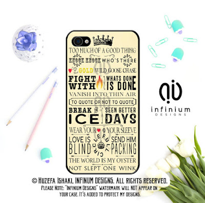 Shakespeare Phone Case on Etsy | gift guide by Tomes and Tequila blog