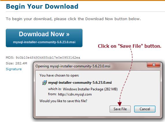 Installer Download: Mysql Installer Download
