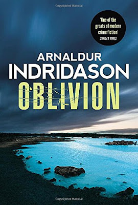 Oblivion by Arnaldur Indridason book cover