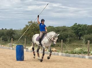 Riitta Reissaa, Working Equitation, Portugal, HorseXplore