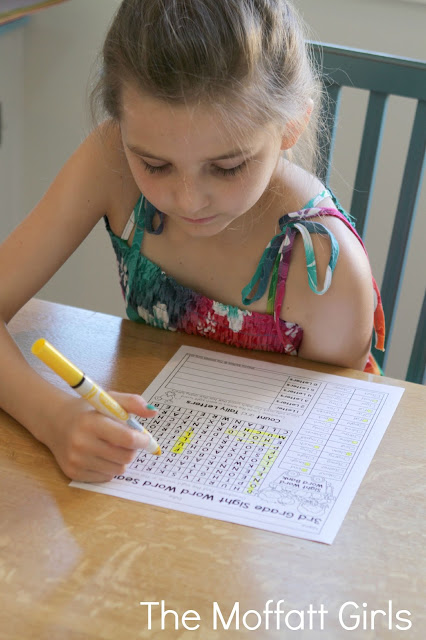 Teach multiplication, two and three-digit addition and subtraction, sight words, grammar, writing and so much more with the October NO PREP Packet for Third Grade!