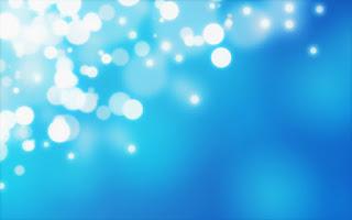 Mavi Font Üzerine Soyut Parlak Işıklar, Arka Plan Fotoğrafları