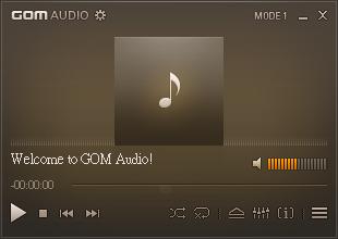 簡單精緻的Mp3音樂播放軟體,GOM Audio v2.0.11.115 多國語言綠色免安裝版!