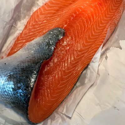 Organic Scottish salmon - the grazer