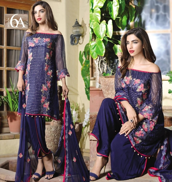 ZS Textiles MAHRUKH Chiffon Collection 2016-17 with Price