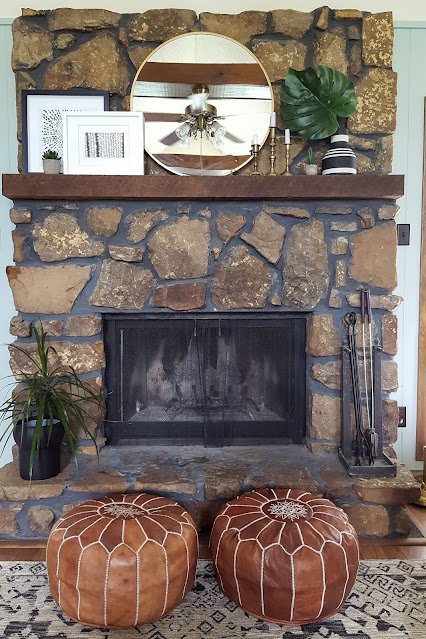 Saturday Styling: Sprucing Up Our Mantel