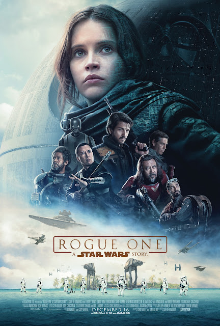 Star Wars: Rogue One Theatrical One Sheet Movie Poster with Darth Vader