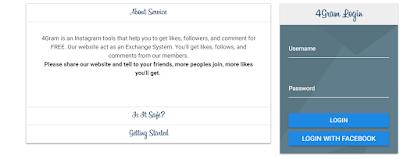Menggunakan fasilitas Situs / Website