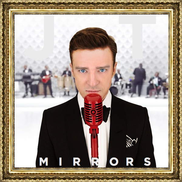 Just Cd Cover: Justin Timberlake : Mirrors (MBM single cover)