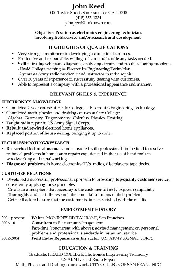 resume template one step closer to your career