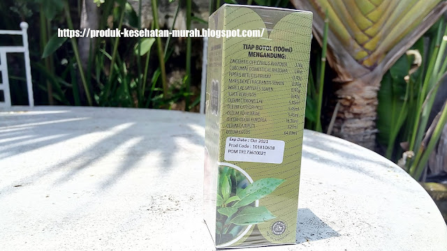 Minyak Kutus Kutus Organic Herbal Healing Oil Tamba Waras Minyak Balur
