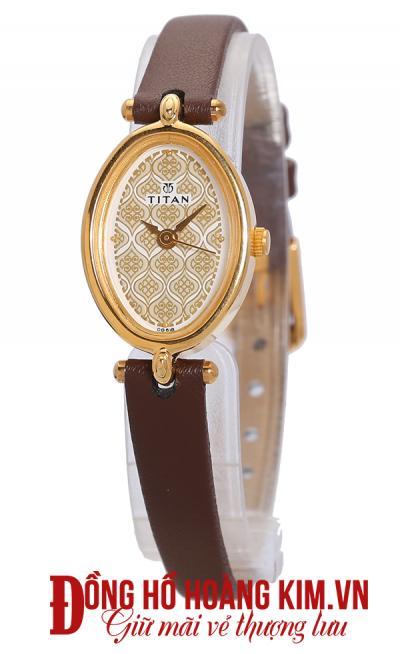đồng hồ nữ dây da đẹp đáng mua