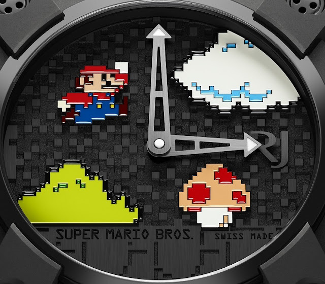 Die Super Mario Bros. Luxusuhr von RJ | Retro Gamer Luxus am Handgelenk