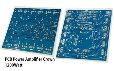 PCB High Power Amplifier Crown 1200W