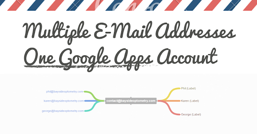 How to Use Multiple Email Addresses Using One Google Apps Account