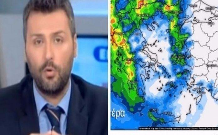 Ο Γιάννης Καλλιάνος προειδοποιεί: Έρχονται βροχές και καταιγίδες!