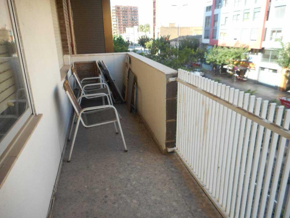 piso en venta castellon avenida de valencia terraza