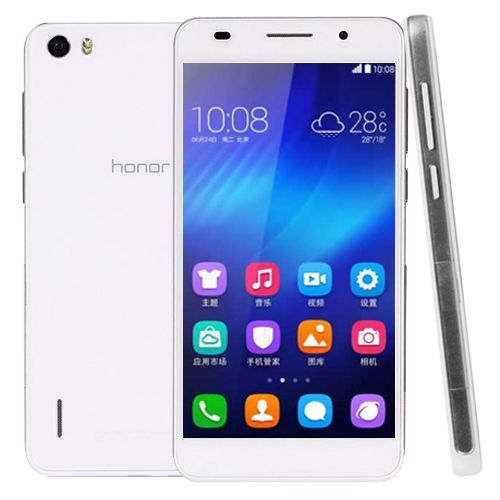 HUAWEI HONOR 6 WHITE 5.0 INCH ANDROID 4.4 IPS SCREEN SMART PHONE KIRIN 920 8 CORE 1.3GHZ RAM 3GB 16GB GSM NETWORK MICRO SIM