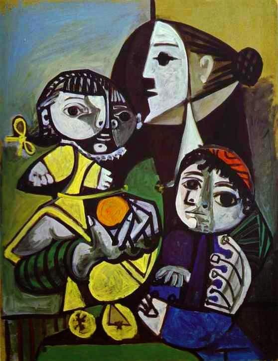 Franoise Claude e Paloma - Picasso e suas pinturas ~ O maior expoente da Arte Moderna