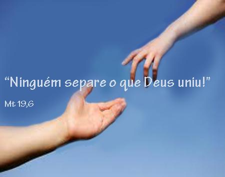 O Que Deus Uniu O Homem Nao Separa